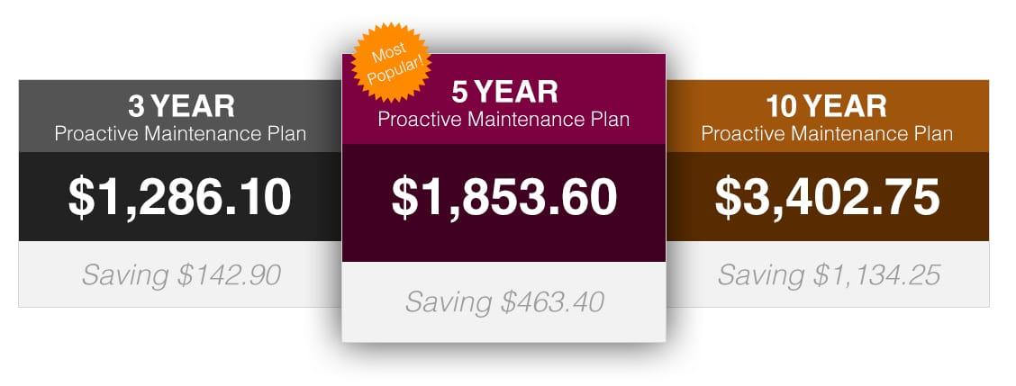 MandM Wine Cellar Cooling System Maintenance Plan Pricing