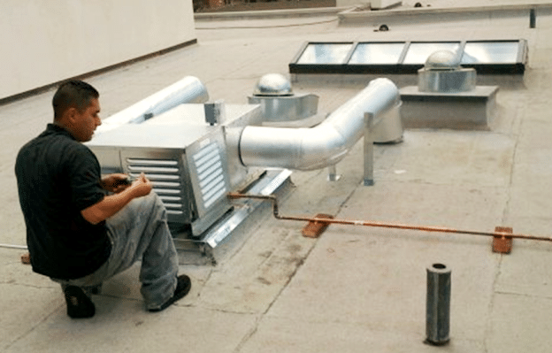 Commercial Wine Cellar Cooling Installation On site