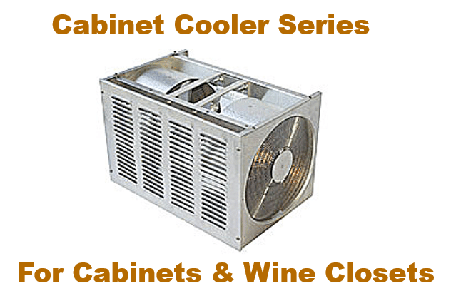 US Cellar Systems Cabinet Cooler Series by MandM Los Angeles