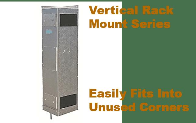 US Cellar Systems Vertical Rack Mount Series by MandM Los Angeles