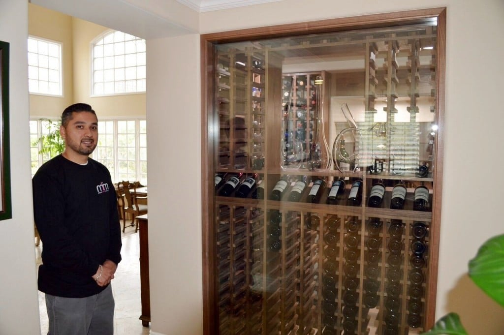 Refrigerated Home Wine Cellar Calabasas California