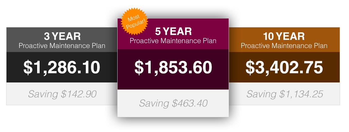MandM Wine Cellar Cooling System Maintenance Plan Pricing