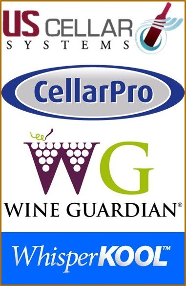US Cellar Systems CellarPro Wine Guardian WhisperKOOL M&M Los Angeles