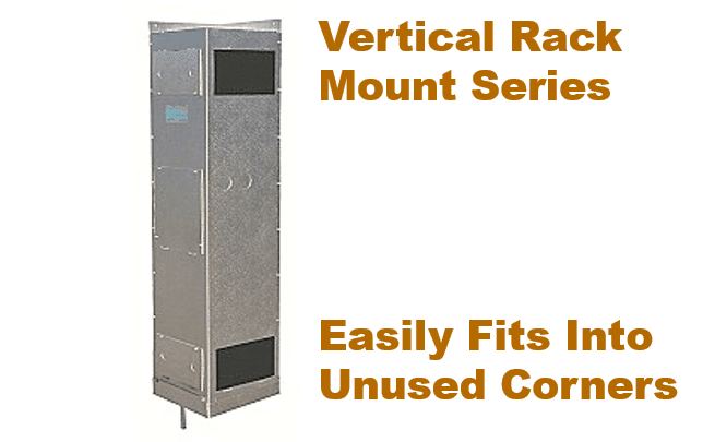 US Cellar Systems Vertical Rack Mount Series by MandM Los Angeles
