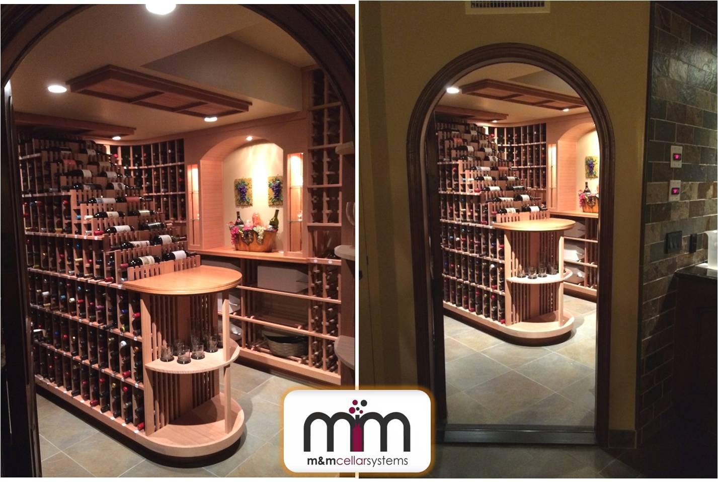 Wine Cellar Refrigeration Installation Project in Bel Air, Los Angeles, CA