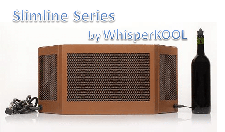 WhisperKOOL Slimline Wine Cellar Cooling Unit