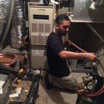 Welding of the Refrigeration Lines (Mario of M&M)