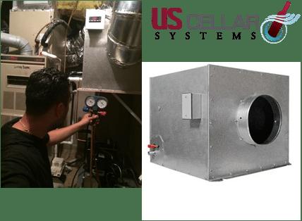 Split Wine Cellar Refrigeration Systems Los Angeles