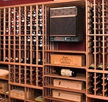 Through the Wall Wine Cellar Cooling System (WhisperKOOL)