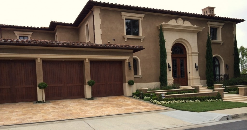 New Home Construction Newport Beach California