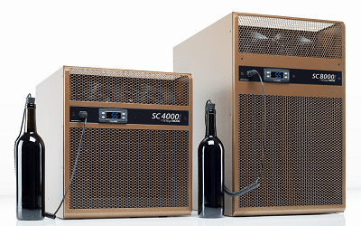 Self-Contained Wine Cellar Cooling System