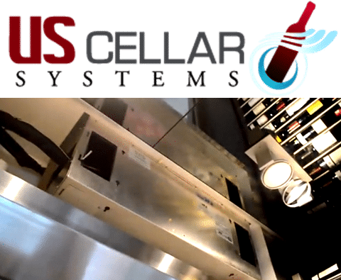 Split Wine Cellar Cooling System