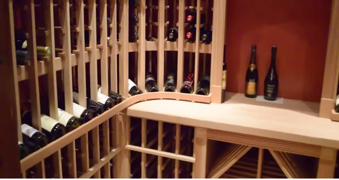 Beautifully Designed Residential Custom Wine Cellar in Irvine, Orange County, California